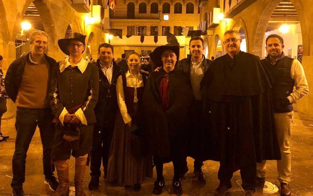 La candidatura del PP de Teruel en la Fiesta de la Villa de Alcorisa este sábado / PP
