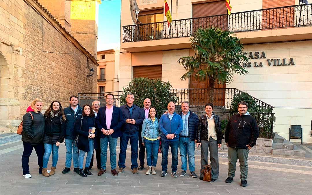 Candidatos populares al Congreso y Senado por la provincia de Teruel en Andorra.