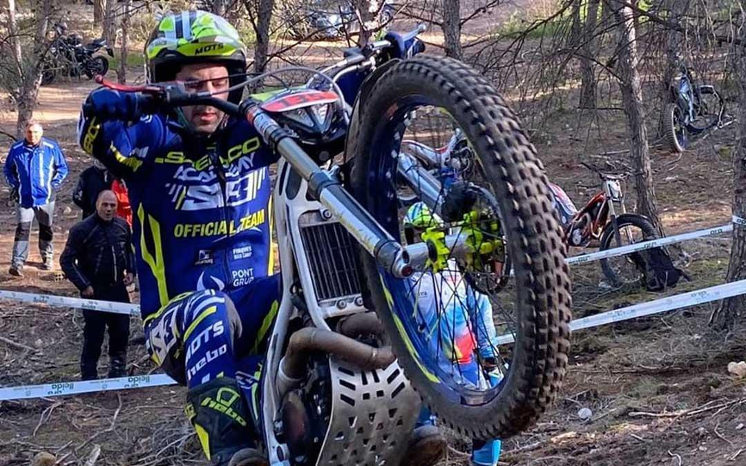 Sergio Puyo es ya campeón de Aragón de trial en TR1 a falta de una carrera.