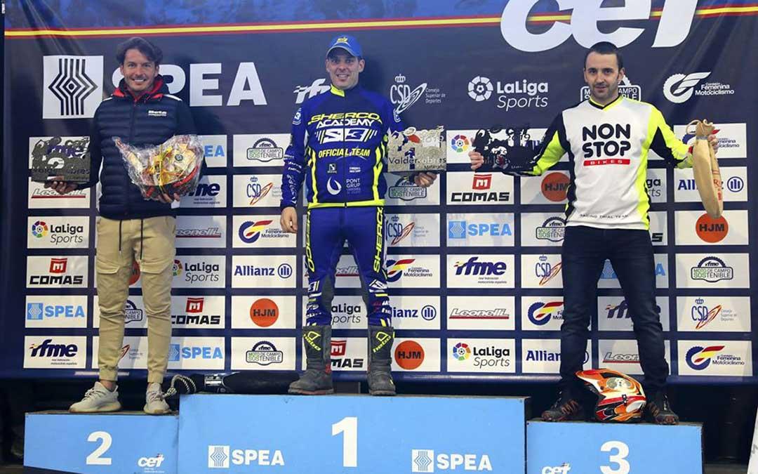 Sergio Puyo se proclamó campeón de España de TR4 en su localidad, Valderrobres / Sherco
