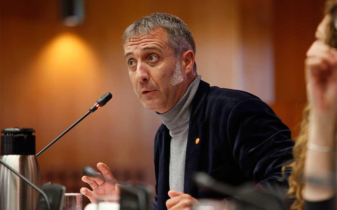 El diputado autonómico de Ciudadanos por Teruel, Ramiro Domínguez.