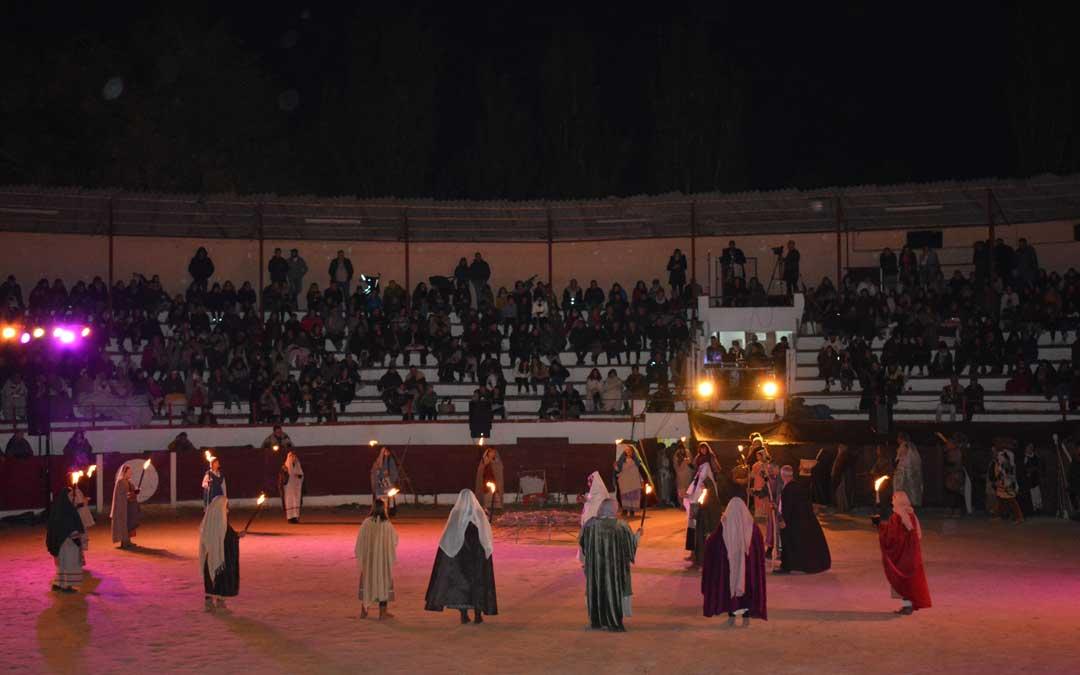 Imagen de archivo. Representación teatral 'La rebelión del trigo' en la edición Lakuerter íbera 2019 de Andorra / I. M.