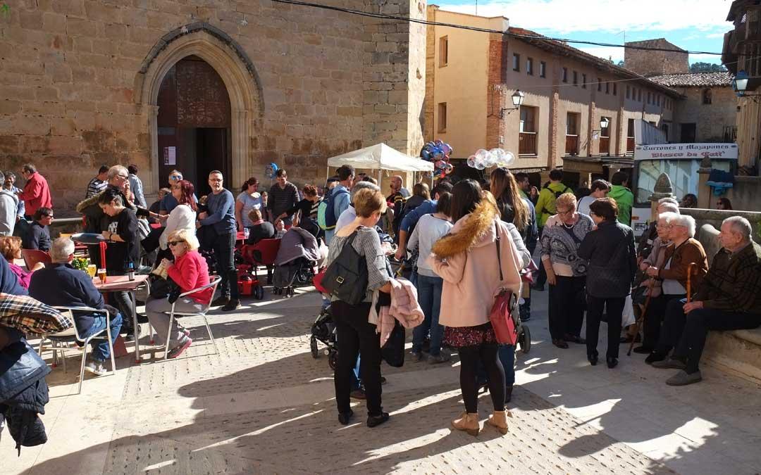 La plaza de Ráfales y las calles adyacentes serán el escenario de una de las ferias más recónditas y veteranas de la comarca del Matarraña