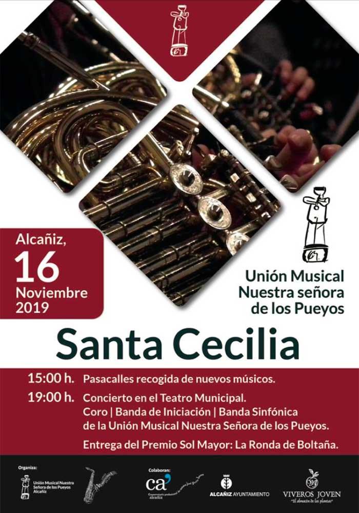 Santa Cecilia en Alcañiz