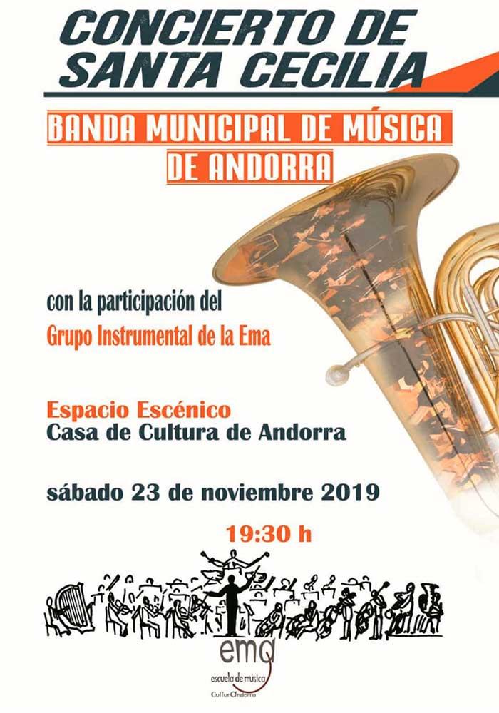 Concierto de Santa Cecilia en Andorra