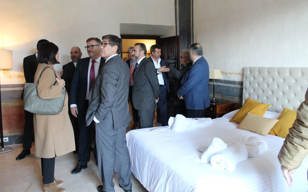 La reapertura de la hospedería de Rueda, un «ilusionante» revulsivo