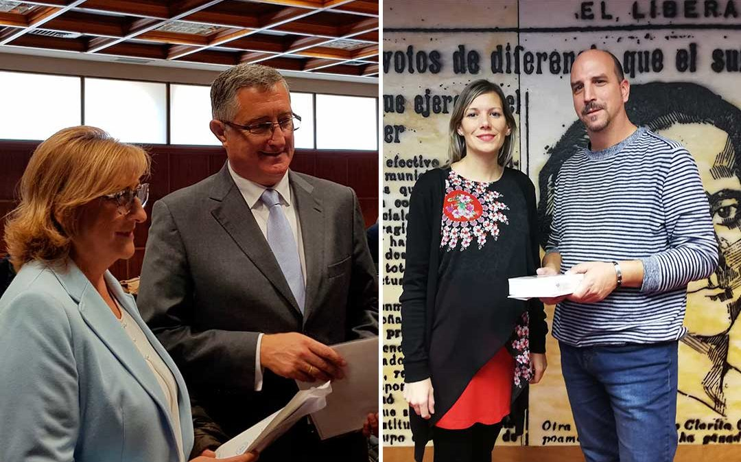 Los cuatro senadores por Teruel se estrenan en Madrid