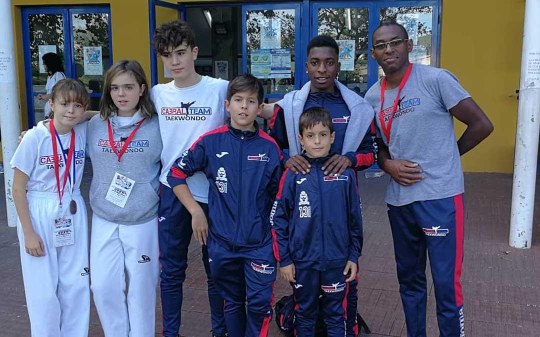 Componentes del Cabral Team que estuvieron en el Open de Benicassim