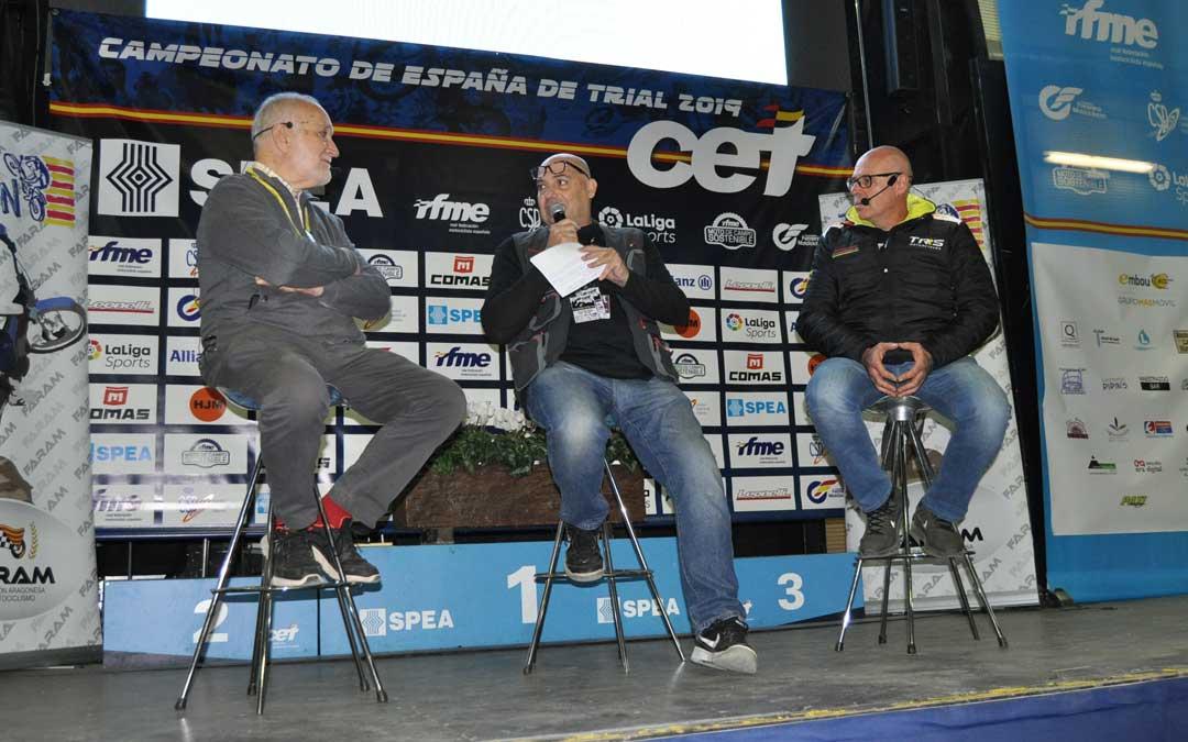 Jordi Tarrés y Pedro Pi han ofrecido una charla coloquio