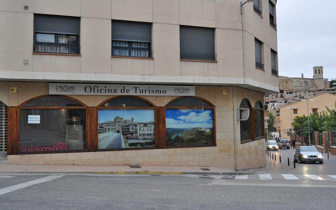La nueva oficina de turismo se encuentra en el cruce de Avenida Hispanidad con Cortes de Aragón.