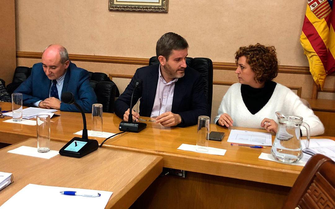 PSOE, IU y Cs suben el IBI y los impuestos y precios públicos en Alcañiz