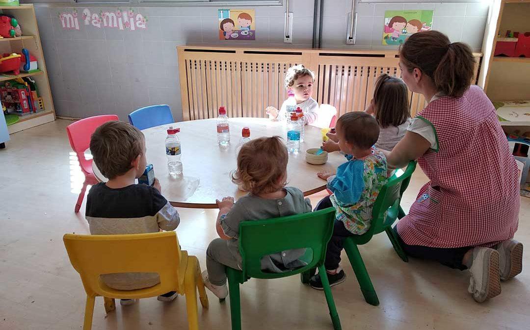 Utrillas implanta el servicio de comedor para niños de 1 a 3 años sin coste adicional