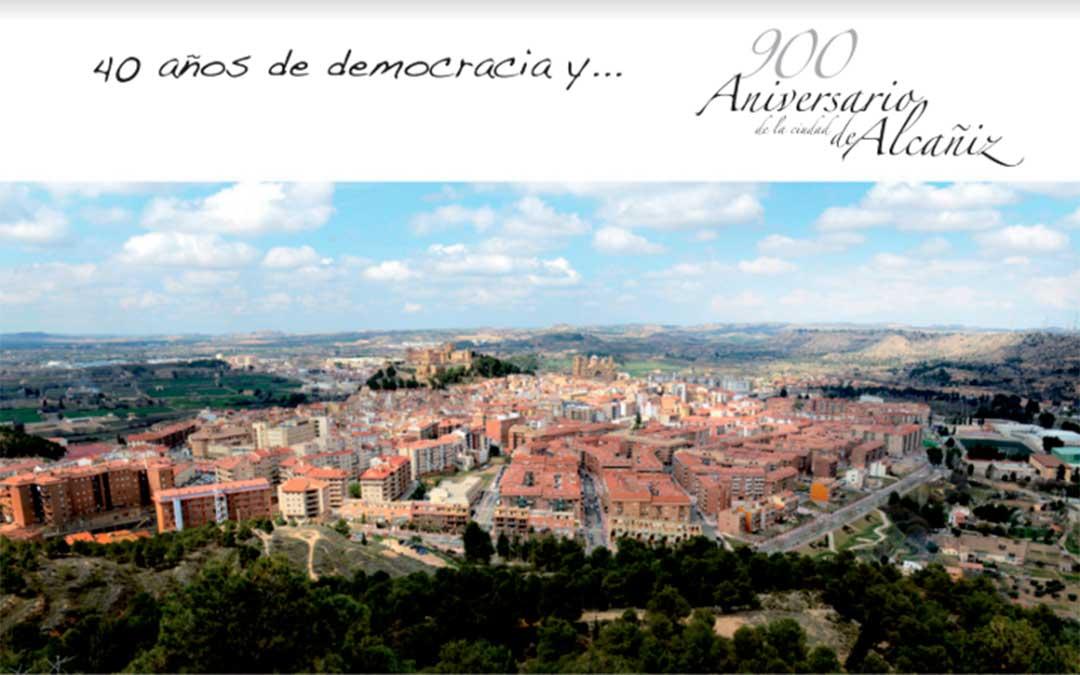 Invitación al acto para conmemorar el 900 aniversario de la ciudad de Alcañiz./ Ayuntamiento de Alcañiz