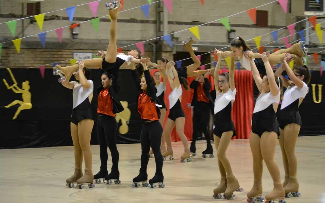 Una de las primera coreografías que interpretaron las patinadoras
