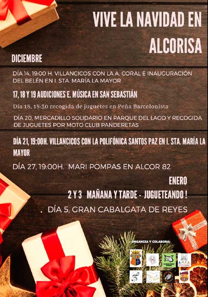 Agenda de Navidad 2019-2020 Alcorisa