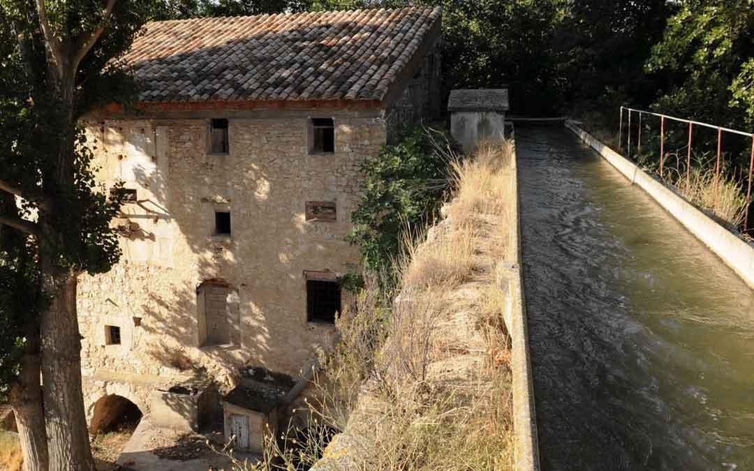 En Aguaviva se actuará en el molino harinero