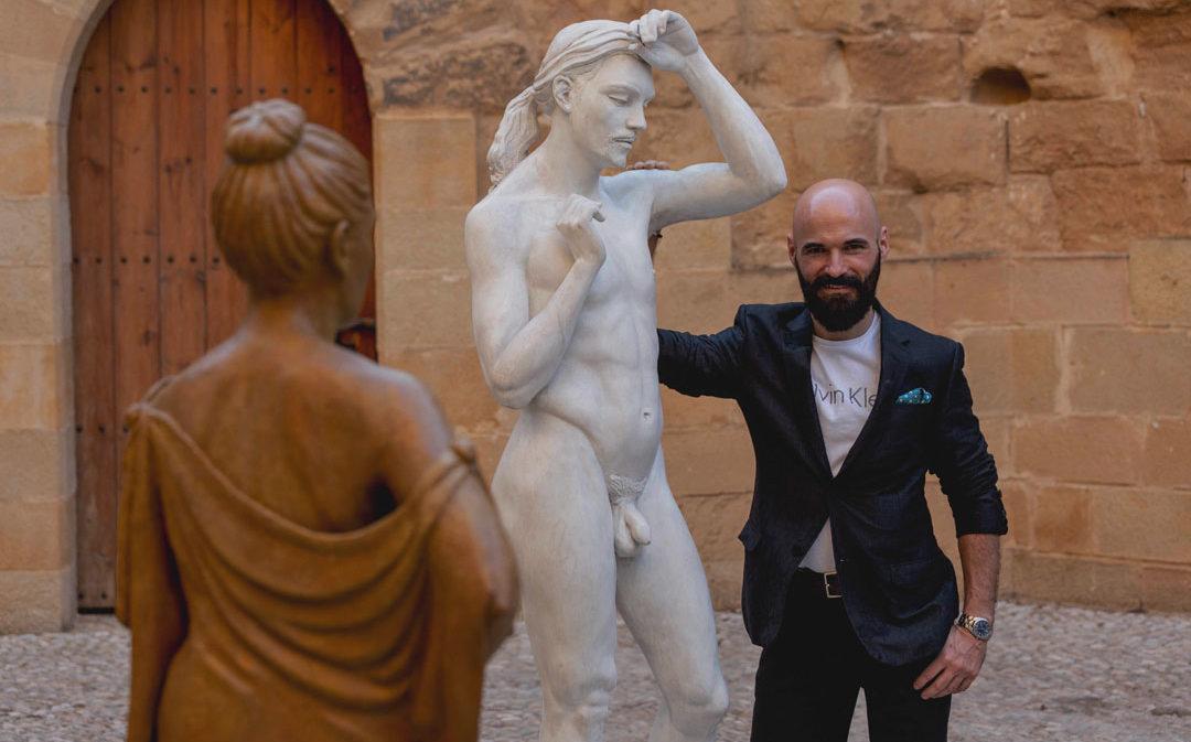 Jorge Egea: Potente arte figurativo con sello alcañizano