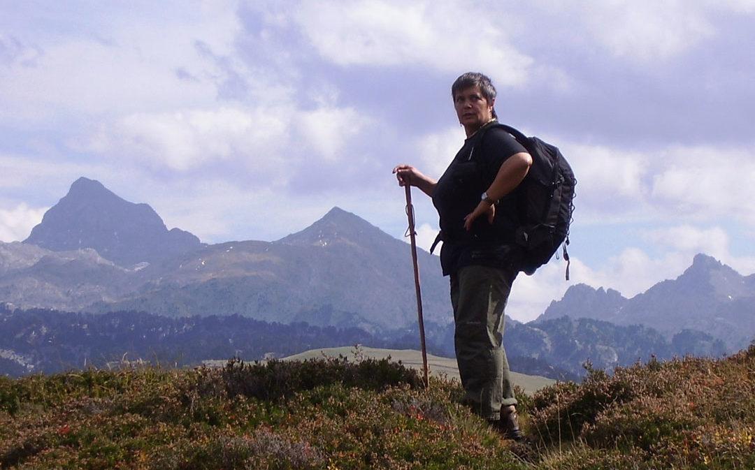 Benilde Edo expone 'La Montagne' en Alcañiz