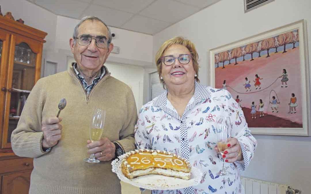 José y Pilar Magrazó: «Que haya tocado un 'pellizquico' a mucha gente es maravilloso»