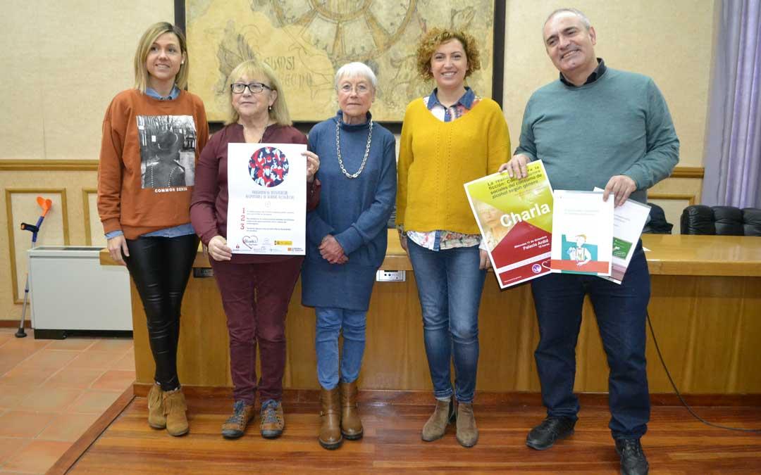 La presentación ha tenido lugar en el ayuntamiento de Alcañiz