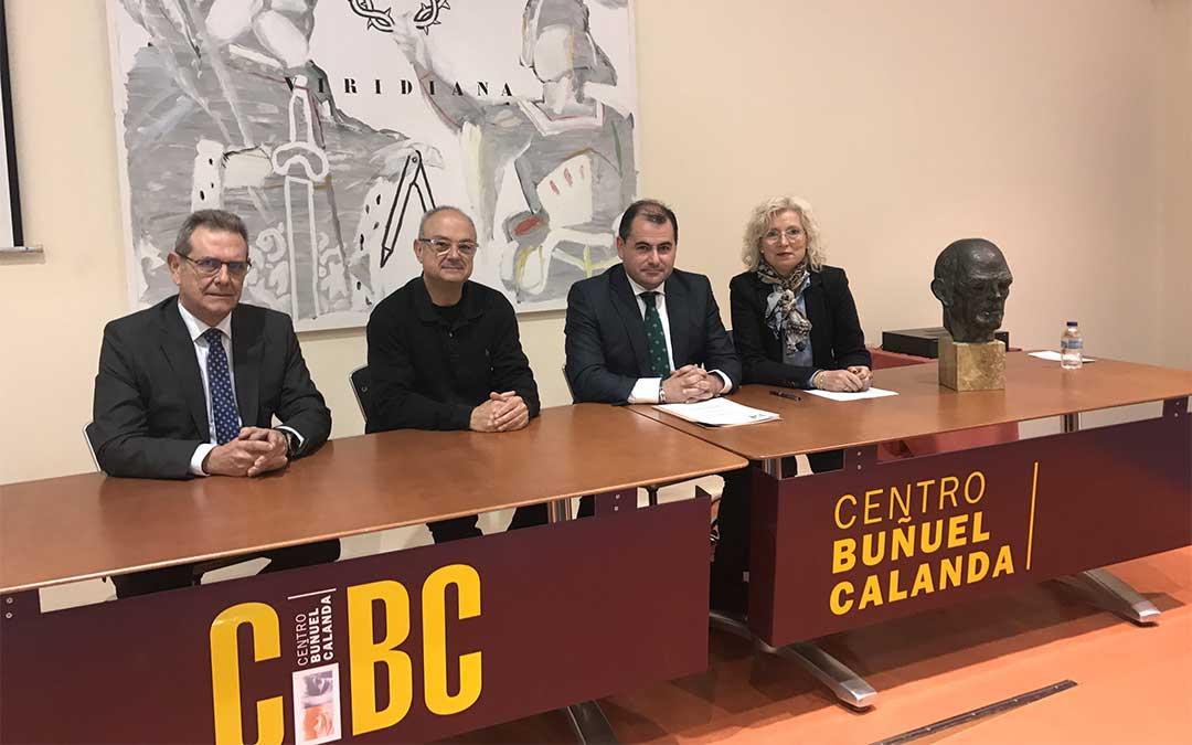 José Cuevas, Jordi Xifra, David Gutierrez Díez y María Isabel Zabal Palos./ Caja Rural