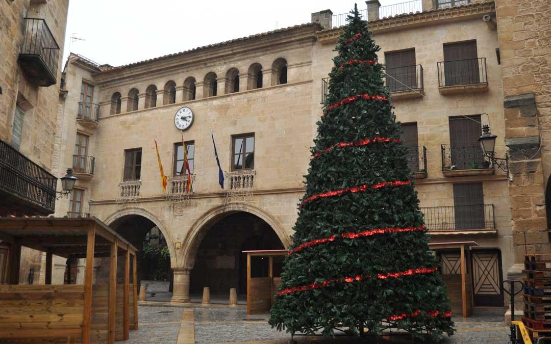 Calaceite retransmitirá el encendido de las luces de Navidad en streaming