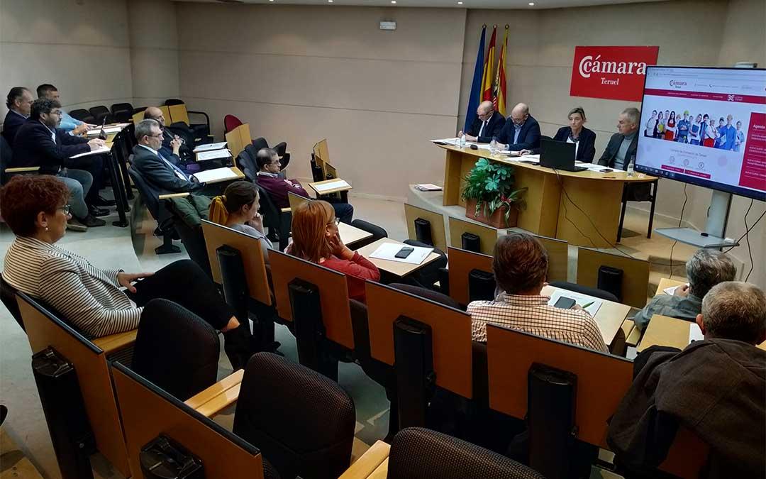 La Cámara de Comercio de Teruel ha celebrado un pleno este martes 17 de diciembre de 2019./ Cámara de Comercio