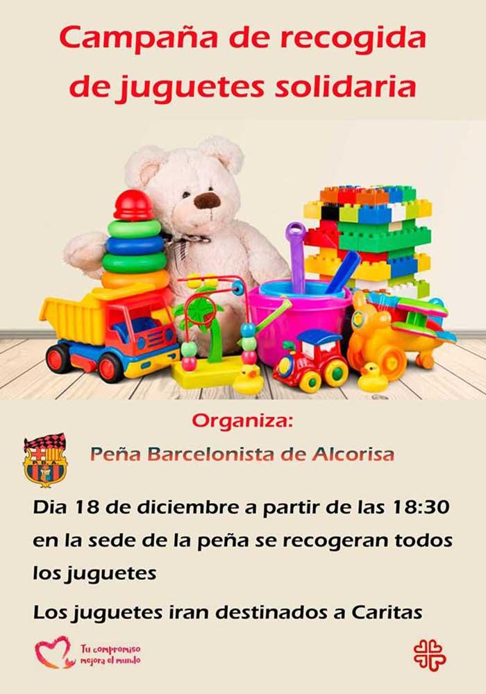 Campaña de recogida de juguetes solidaria en Alcorisa