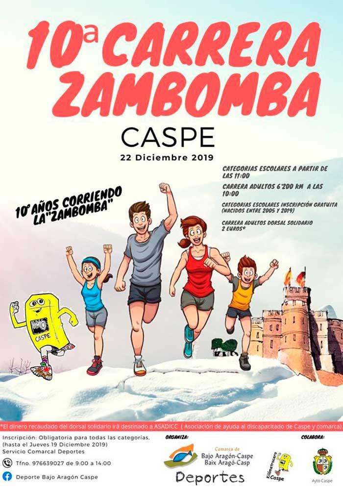 10ª Carrera Zambomba en Caspe