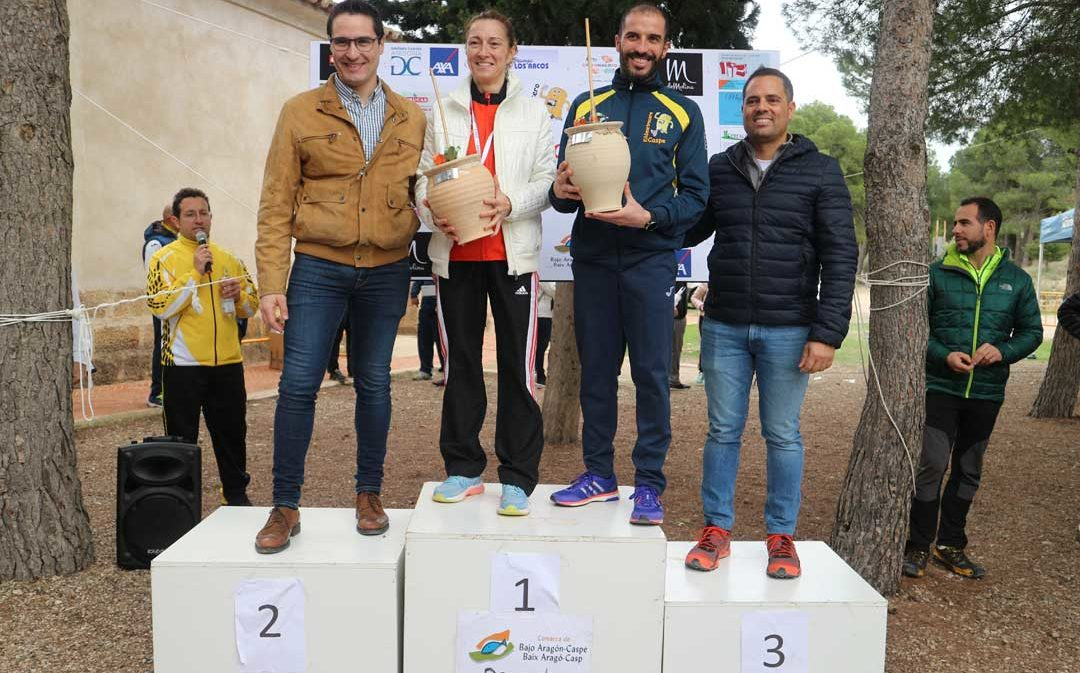 325 corredores participan en la X carrera de la Zambomba de Caspe