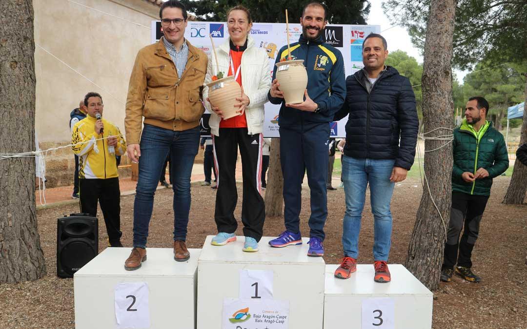 Los ganadores fueron el caspolino Javier Bielsa y en categoría femenina fue la alcañizana Laura Clavería la ganadora