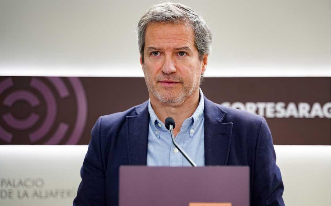 El portavoz del Grupo Parlamentario de Ciudadanos en las Cortes de Aragón, Daniel Pérez / Cs