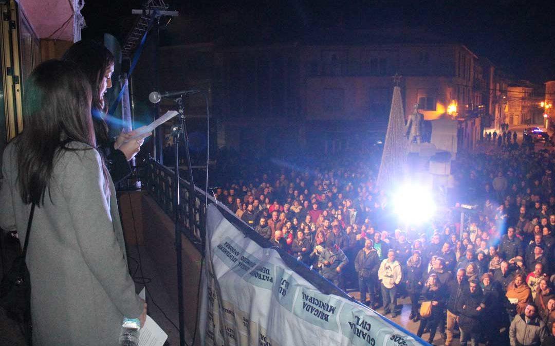 Masiva concentración para exigir respuestas y responsabilidades dos años después del triple crimen de Andorra