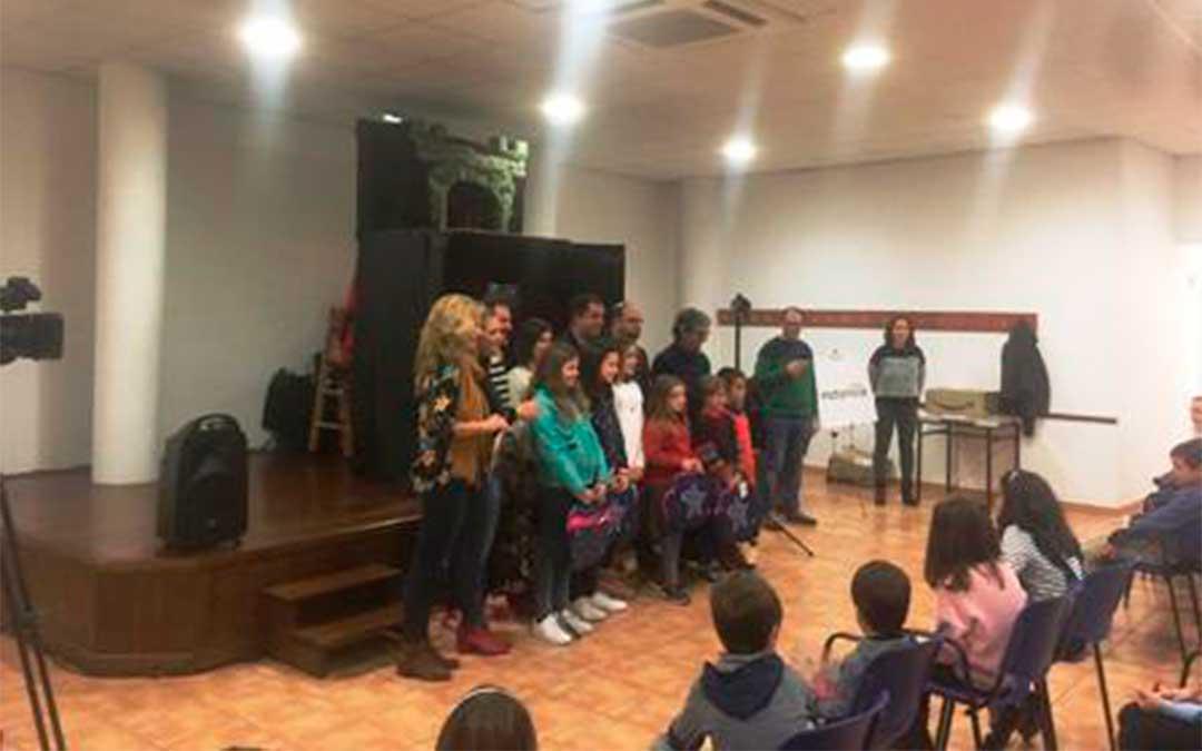 Entrega de los premios del IV Concurso de Cuentos 'Qüento va, qüento vingue' de la Comarca del Matarraña.