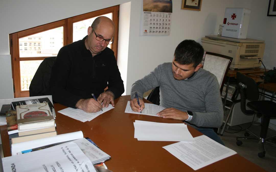 La firma del convenio tuvo lugar el 23 de noviembre.