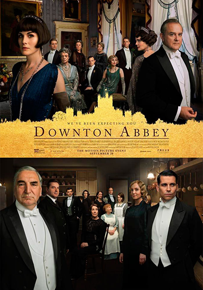 Cartelera en Alcorisa: Downton Abbey
