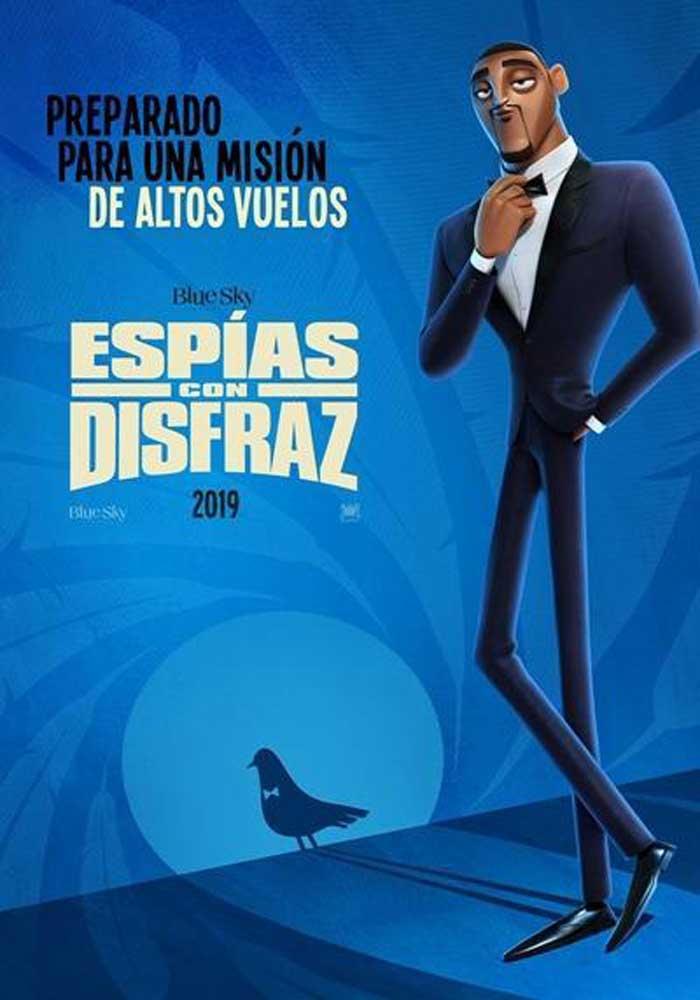 Cartelera en Alcañiz: Espías con disfraz