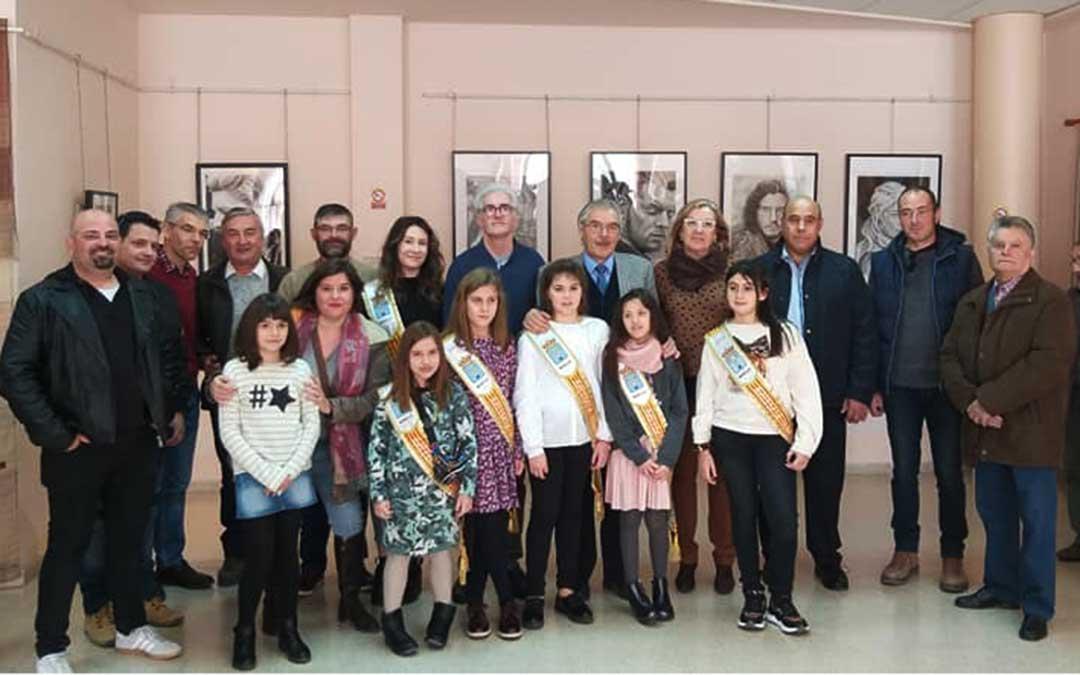 Inauguración de la exposición 'Maella y sus artistas'.
