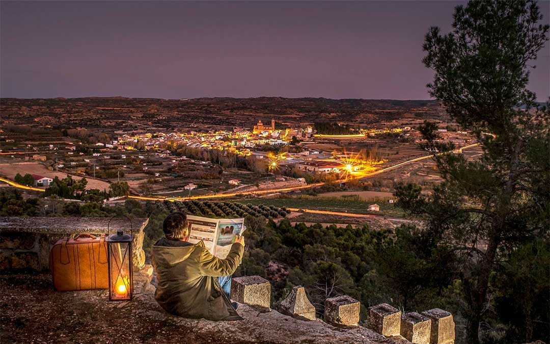 'Te espero en la ermita' de Eduardo Manero, fotografía ganadora del concurso 'Miradas al Bajo Aragón'.