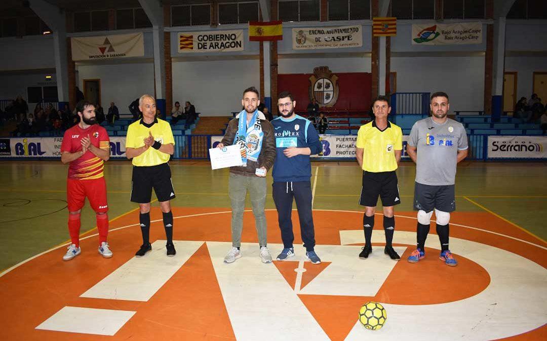 El FS Caspe consigue 10 goles contra el San Jorge y acumula 3 nuevos puntos