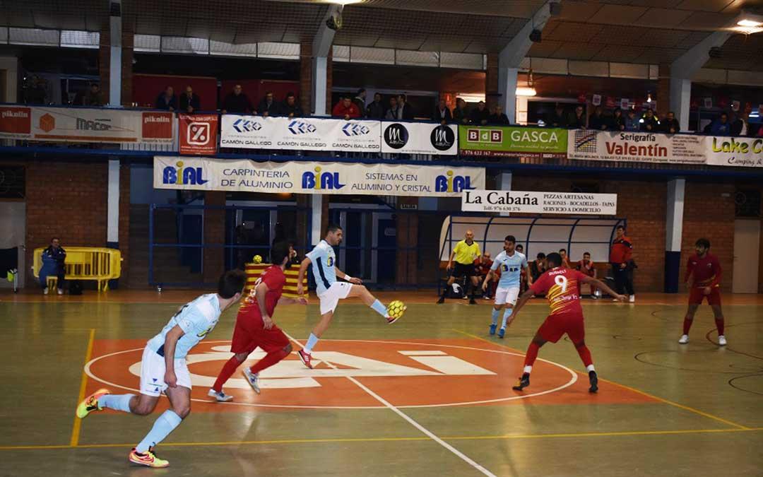 El partido Caspe-San Jorge tuvo lugar en el pabellón Manuel Barriendos.