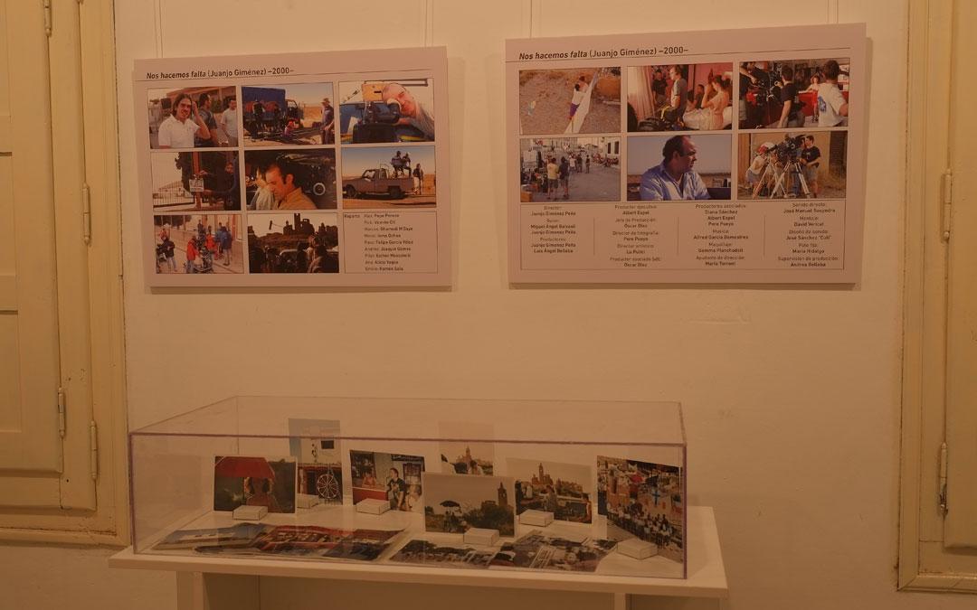 Detalle de la exposición 'Belchite de película'. / Alicia Martín