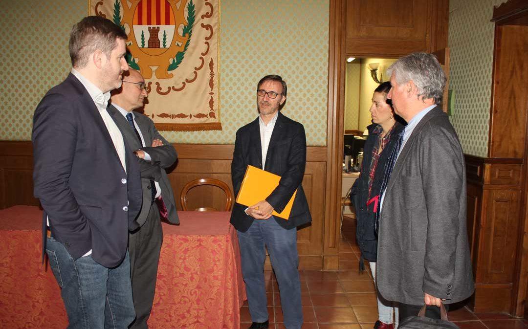 DGA inicia el expediente para rescindir el contrato de obra del  Hospital de Alcañiz