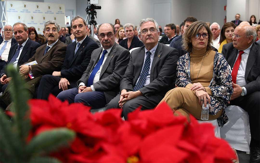 Javier Lambán clausura la X Jornada de la Comunidad General de Regantes de Aragón y Cataluña, Agricultura y Cambio Climático./ DGA