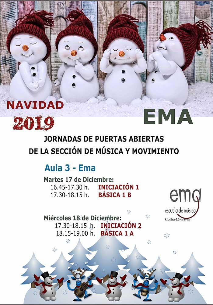 Jornada de puertas abiertas de la Escuela de Música de Andorra