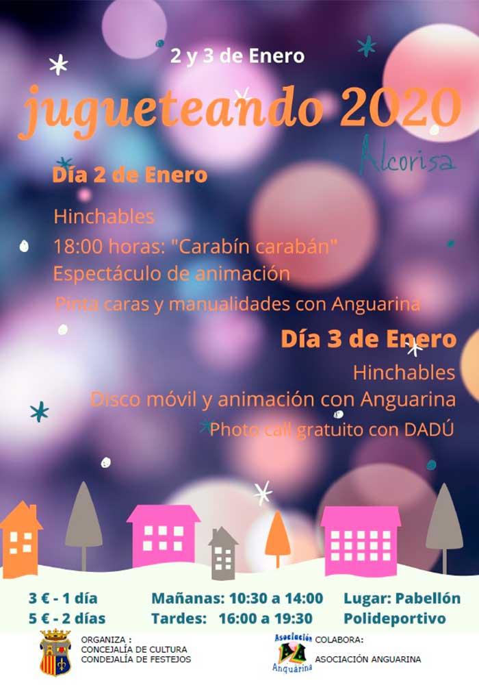 Jugueteando 2020 en Alcorisa