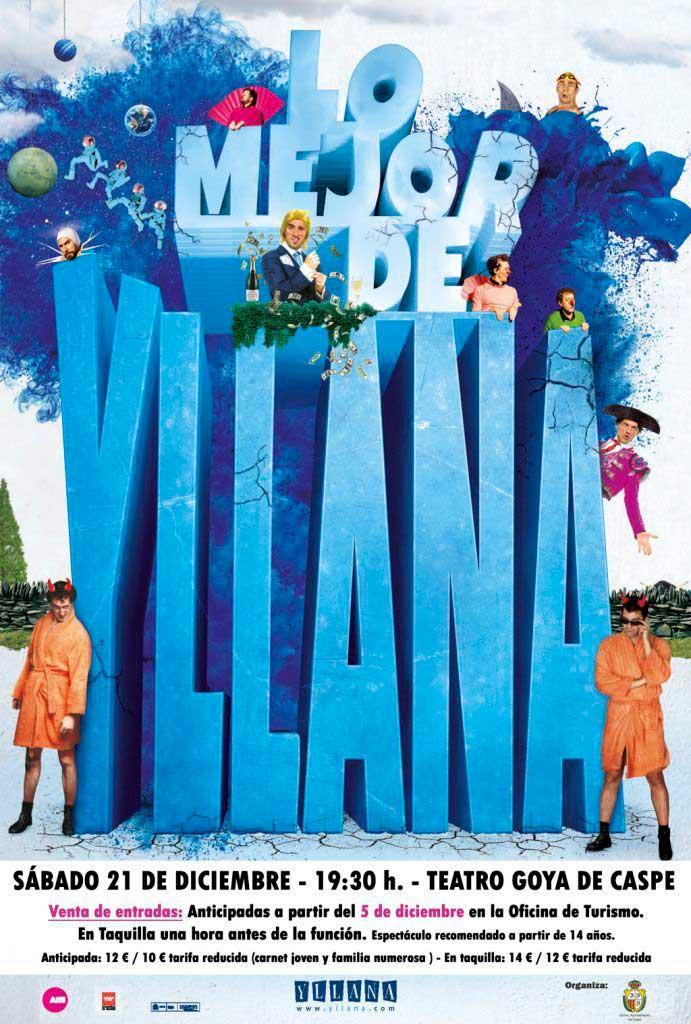 Lo mejor de Yllana en el teatro Goya de Caspe