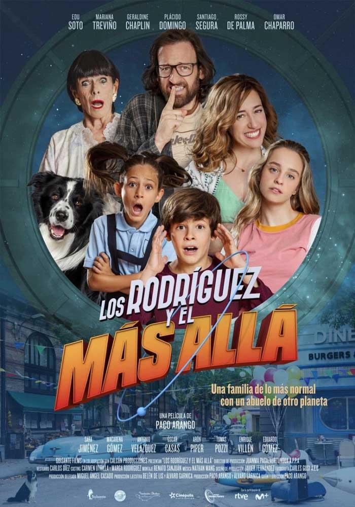 Cartelera en Alcorisa: Los Rodríguez y el más allá