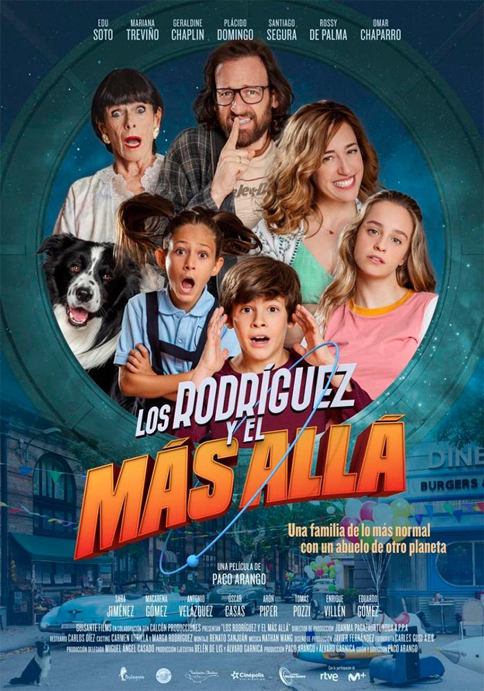 Cartelera en Maella: Los Rodríguez y El Más Allá