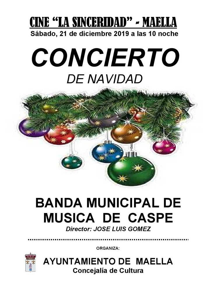 Concierto de Navidad en Maella